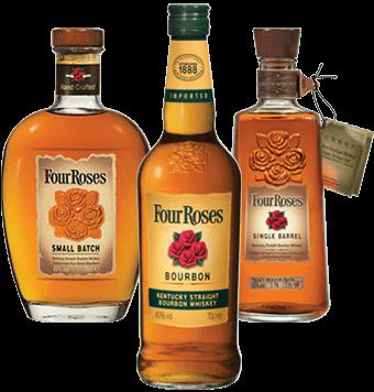 Four Roses Bourbon en Blues Tour